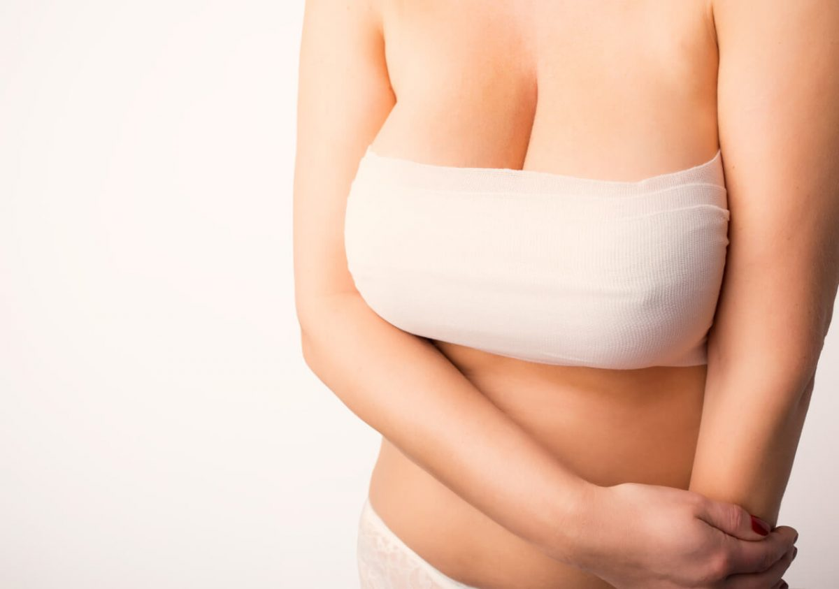 breast augmentation pain