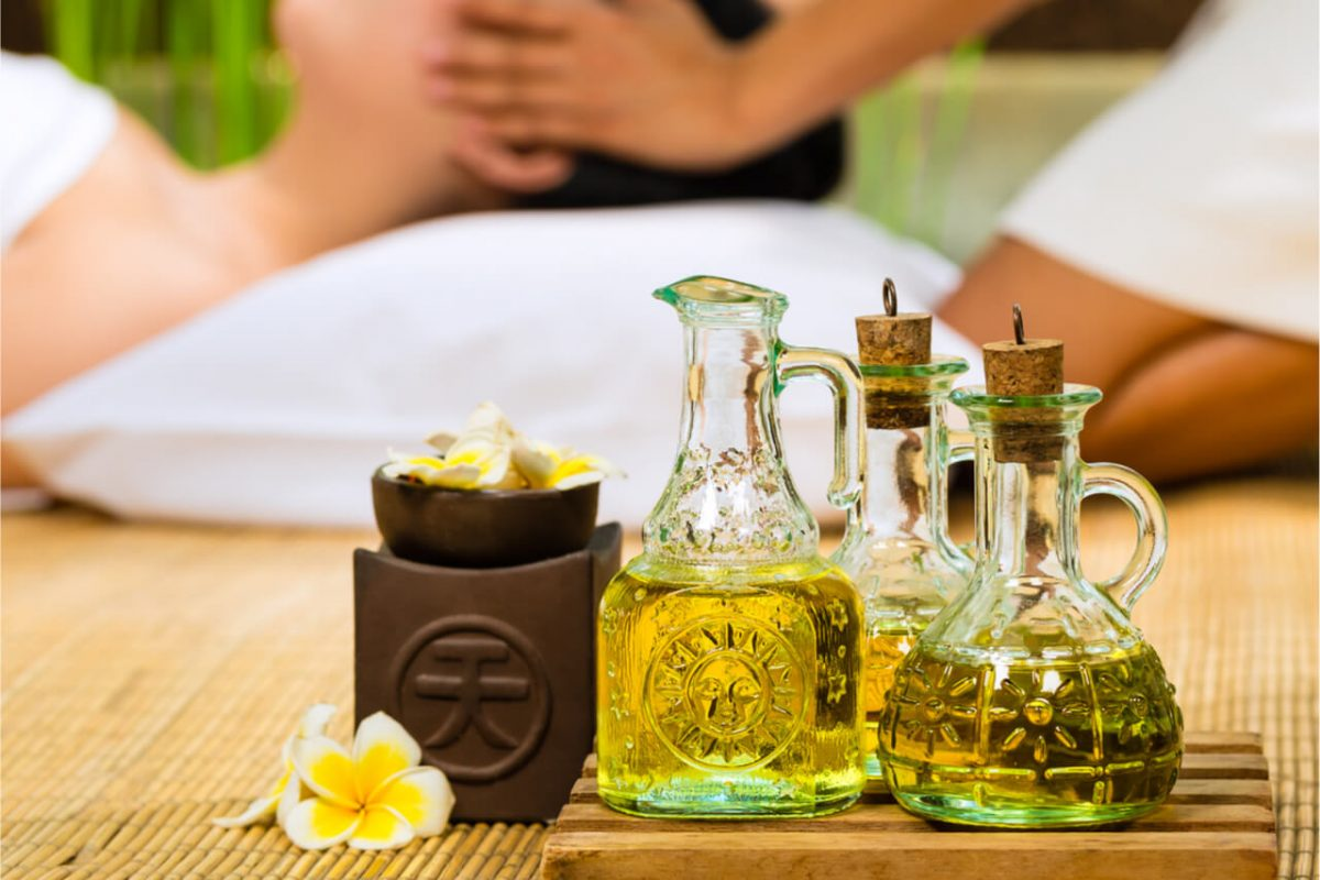 Essential oils for massage therapy